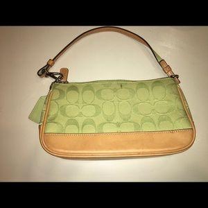 Used little coach purse